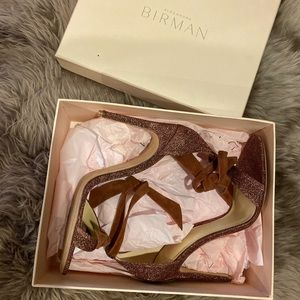 Alexandre Birman Clarita Glitter Sandals Size 42
